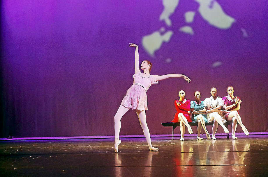 "Dancers perform a scene from ""Summer Dance 2017."" The show will be presented at Mohegan Sun on Aug. 3. Photo: Photo Courtesy Of Albano Ballet Company"