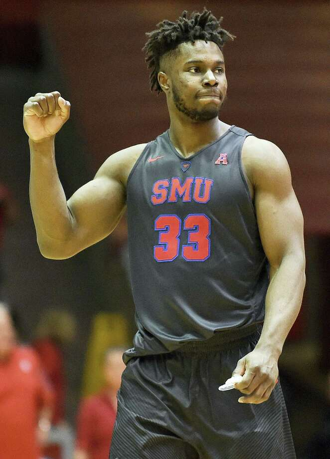 SMU forward Semi Ojeleye. Photo: The Associated Press File Photo  / FR171023 AP