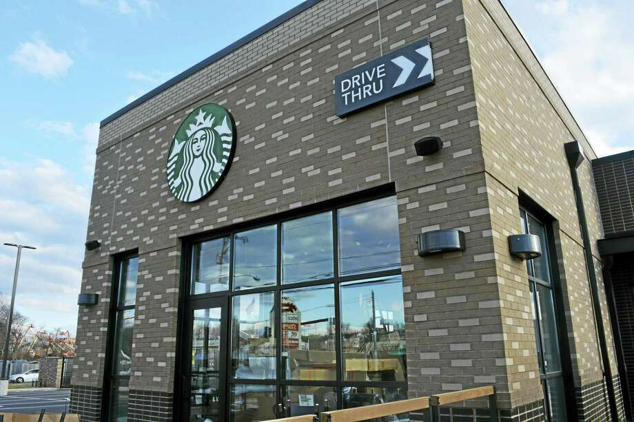 Starbucks is coming next month to the Home Depot/Price Chopper plaza on Route 66. Photo: Cassandra Day — The Middletown Press