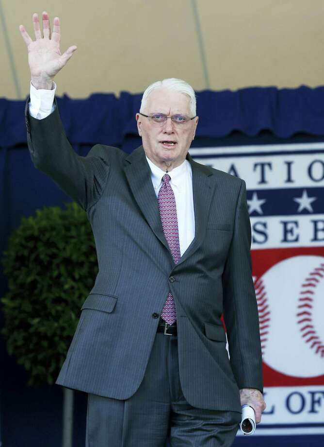 National Baseball Hall of Famer Jim Bunning has died. Photo: Mike Groll — The Associated Press File  / Copyright 2017 The Associated Press. All rights reserved.