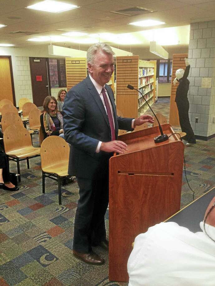 John Maloney was selected to be Cromwell's Superintendent of Schools this week. Photo: Jeff Mill —- The Middletown Press