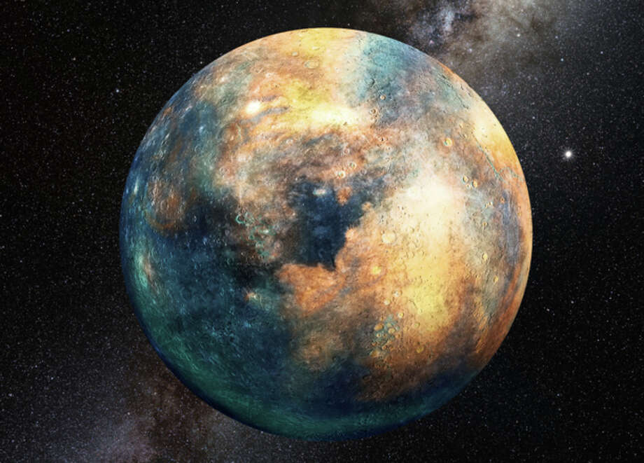 A planet the size of Mars could be messing with the orbits of objects in the Kuiper belt. (PHOTO CREDIT: Heather Roper, LPL) Photo: Heather Roper, LPL / Heather Roper, LPL