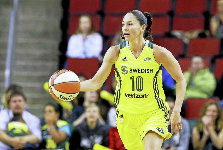 Seattle Storm All-Star Sue Bird. Photo: The Associated Press File Photo  / Copyright 2017 The Associated Press. All rights reserved.