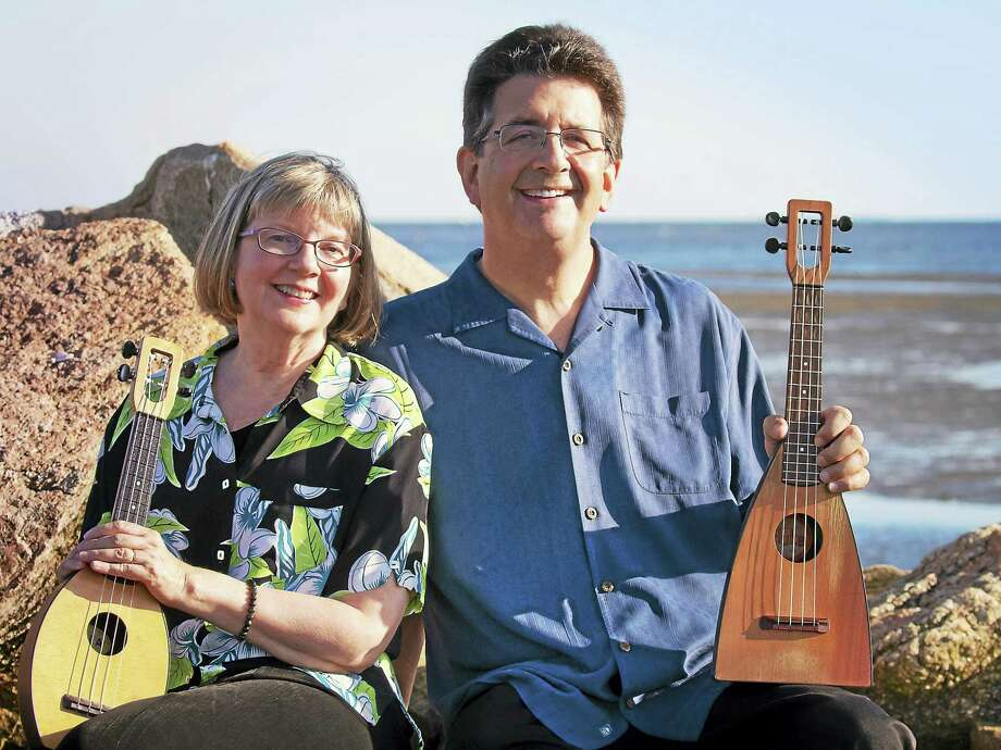 CONTRIBUTED PHOTOBENEFIT CONCERTBranford: Jim and Liz Beloff will present a concert with songs and ukuleles at 7:30 p.m. Feb. 24 at the First Congregational Church, 1009 Main St. Tickets are $15 and $6. The snow date is March 3. The event will benefit the Musical Art Society Alice Collins Memorial Scholarship. To attend, contact Christine Cohen at 203-453-0287 or ChristineCohen@comcast.net, or Carol Titcomb at 203-488-3088 or NeilCarolT@sbcglobal.net. Photo: Digital First Media