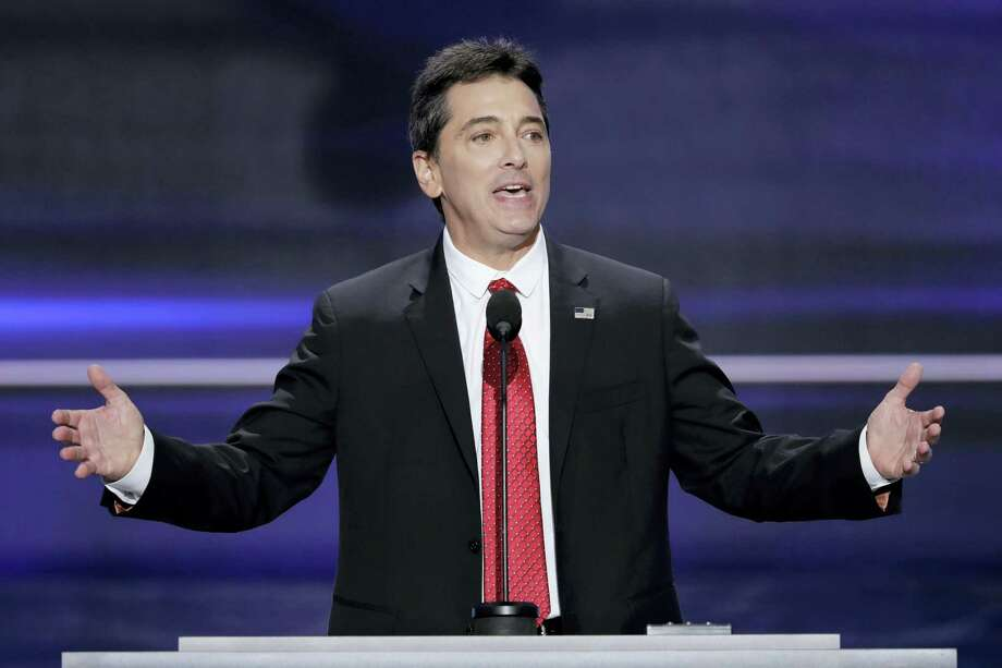 """In this  July 18, 2016, file photo, actor Scott Baio speaks during the opening day of the Republican National Convention in Cleveland. Baio wrote on Facebook April 25, 2017, that he was responding to media reports when suggested the death of his former """"Happy Days"""" co-star Erin Moran may have been due to substance abuse problems. Photo: AP Photo/J. Scott Applewhite, File   / Copyright 2016 The Associated Press. All rights reserved. This material may not be published, broadcast, rewritten or redistribu"""