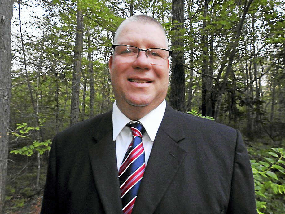 Middletown Police Capt. Sean Moriarty of the Higganum section of Haddam is running for first selectman in November. Photo: Courtesy Haddam Democrats
