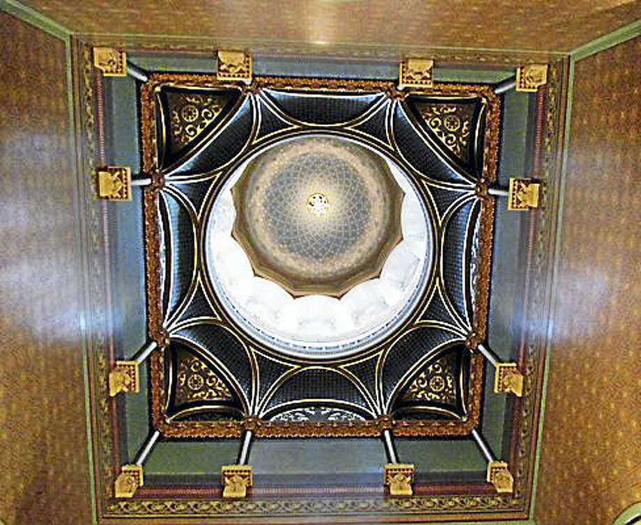 Ceiling of the state Capitol building Photo: Ctnewsjunkie File Photo