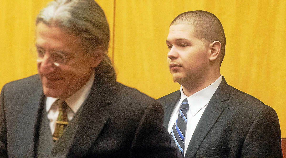 Tony Moreno appears in court to hear final arguments and jury instructions by Judge Vitale on the sixth day of Moreno's murder trial at Middlesex Superior Court Tuesday.