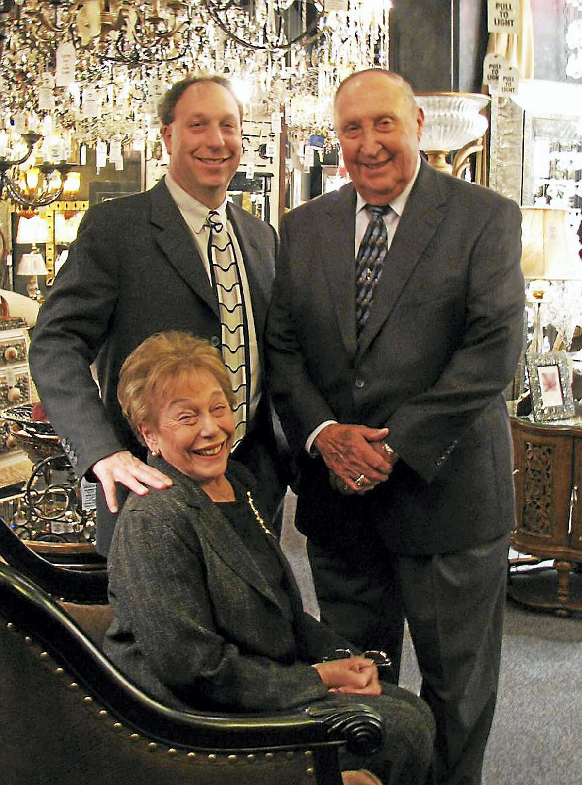 From left are David Director, his mother Edythe and father Arthur, who first introduced the Big Brothers Big Sisters chapter to Connecticut in the mid-1960s.