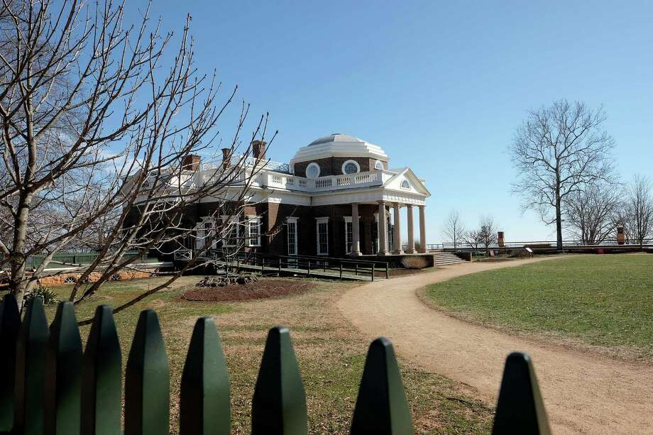 Monticello, home of Thomas Jefferson in Charlottesville, Virginia, was a 5,000-acre working plantation. Caretakers of the historic site are working to tell the stories of the 607 slaves Jefferson owned during his lifetime. Photo: Photo For The Washington Post By Norm Shafer  / Norm Shafer