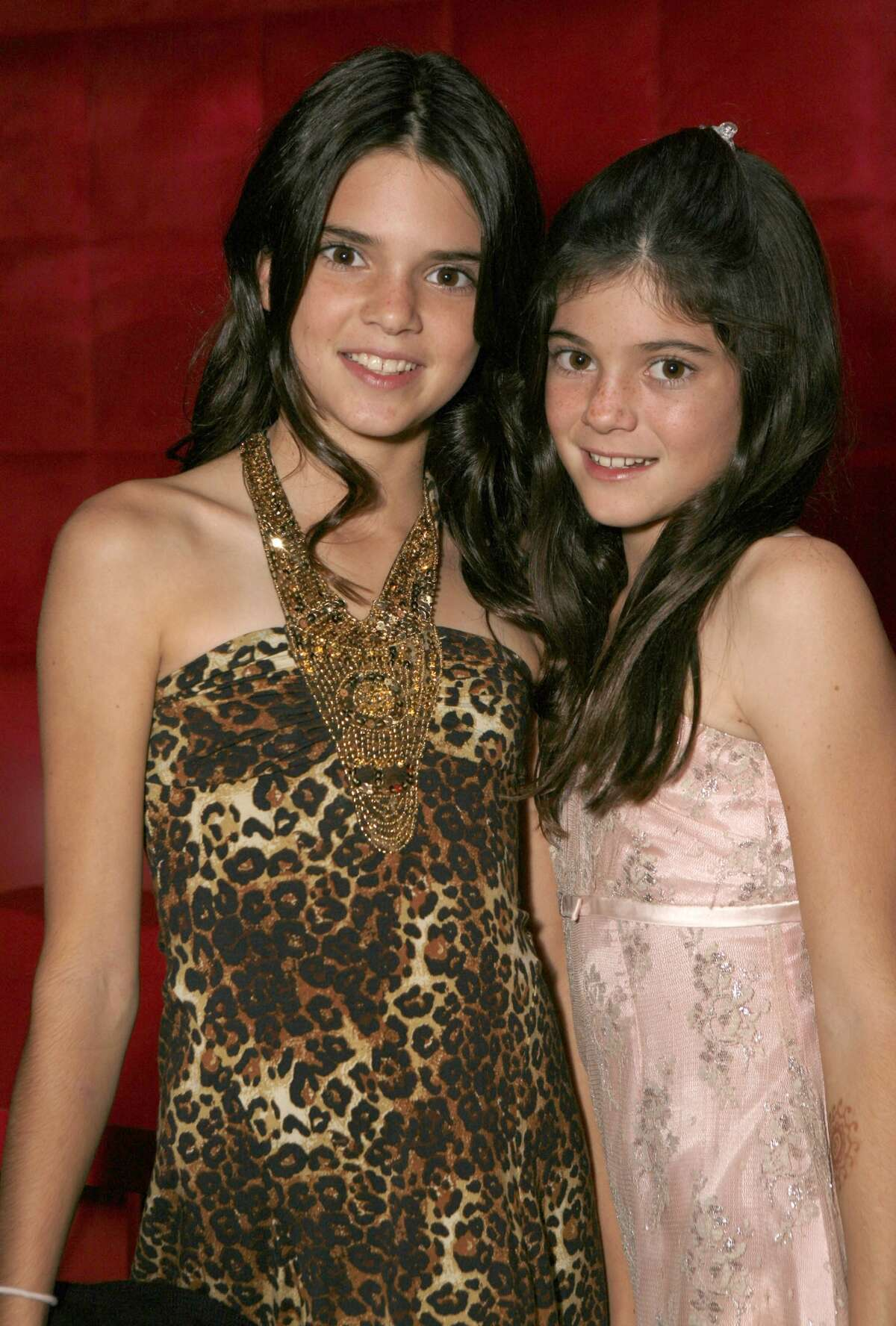 Kendall and Kylie Jenner were just 11 and 10 years old when the show came out.