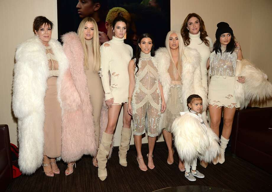 Kris Jenner's cryptic posts leading up the big reveal of the Kardashian-Jenner Christmas card have people speculating all kinds of things about Kylie and Khloe's rumored pregnancies.>> See the Kardashian-Jenner clan then and now. Photo: Kevin Mazur/Getty Images For Yeezy Season 3