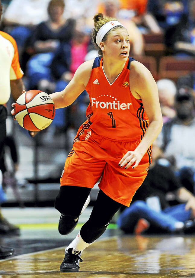 The Connecticut Sun's Rachel Banham is ready to go for the 2017 season. Photo: Jessica Hill — The Associated Press File Photo  / AP2016