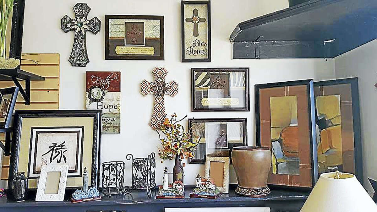 """""""There something here for everyone,"""" including home goods and knickknacks, Grippo said of her boutique."""