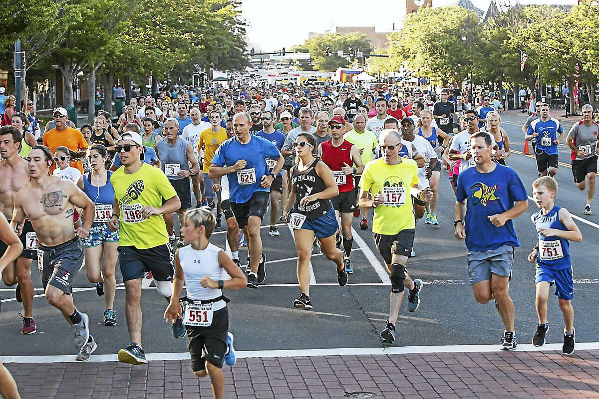 The course began on Main Street and made its way up William Street, a gradual hill, then onto High Street and Washington Terrace in Middletown