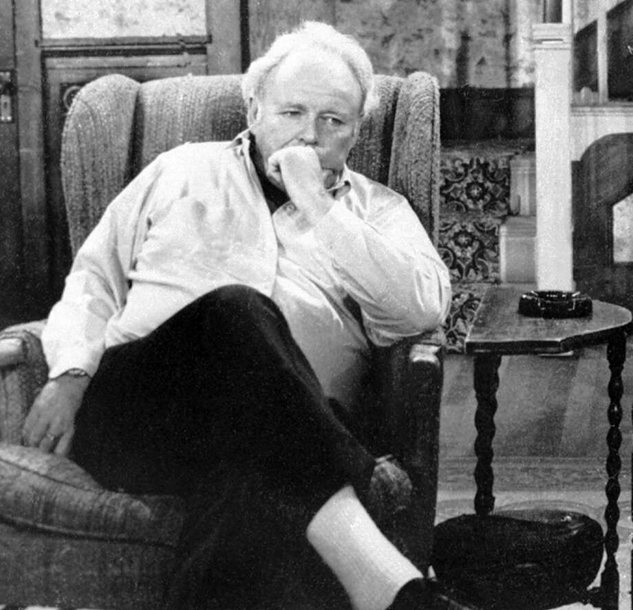 """Because of stereotypes — like the kind offered by Archie Bunker, played by Carroll O'Connor, in the television series """"All in the Family"""" — we miss the full richness of humanity. Photo: /AP / CBS"""
