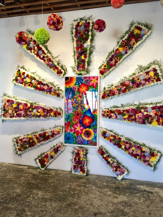 Works by Andrew Lawson are on display at Fridays in August at Kamiposi, 510 S. Big Spring St. Photo: Courtesy Photo