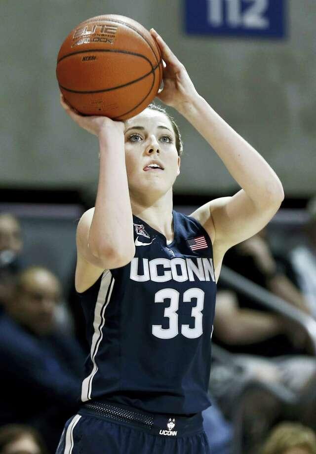 UConn's Katie Lou Samuelson. Photo: The Associated Press File Photo  / FR168019 AP