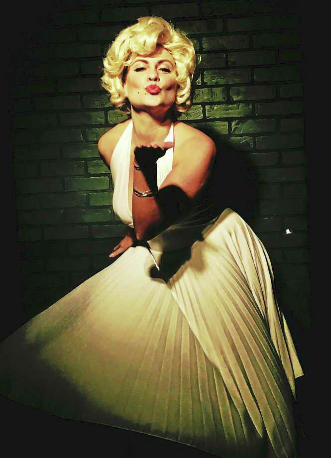 """Photo courtesy of the Connecticut Cabaret Theatre Meagan Palmer plays the role made famous by Marilyn Monroe in """"The Seven Year Itch."""" Photo: Digital First Media"""