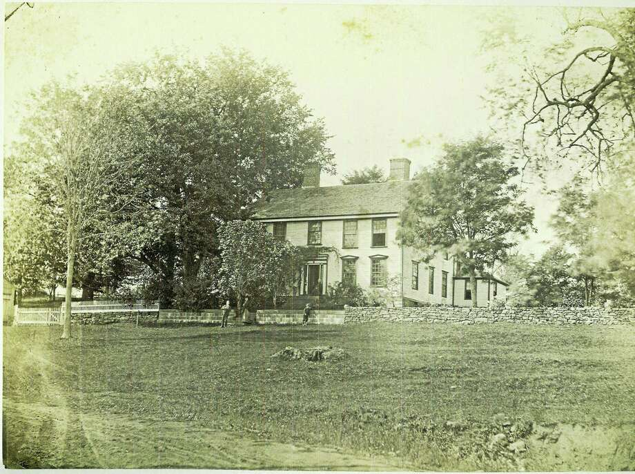 Contributed photoThe Wetmore House, in a contributed photo from the Middlesex Historical Society, Middletown. Photo: Digital First Media