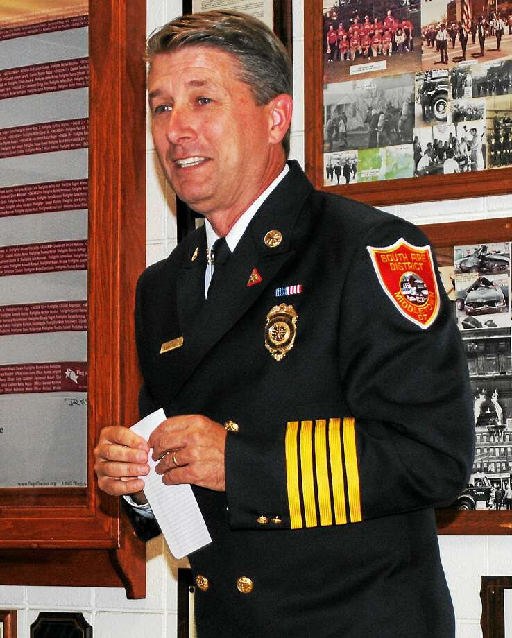 South District Fire Chief Robert Ross Photo: File Photo
