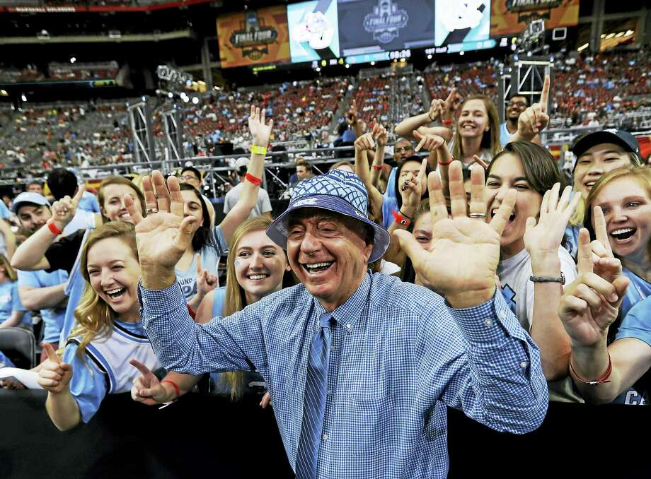 Dick Vitale has signed a contract extension with ESPN. Photo: The Associated Press File Photo  / Copyright 2017 The Associated Press. All rights reserved.