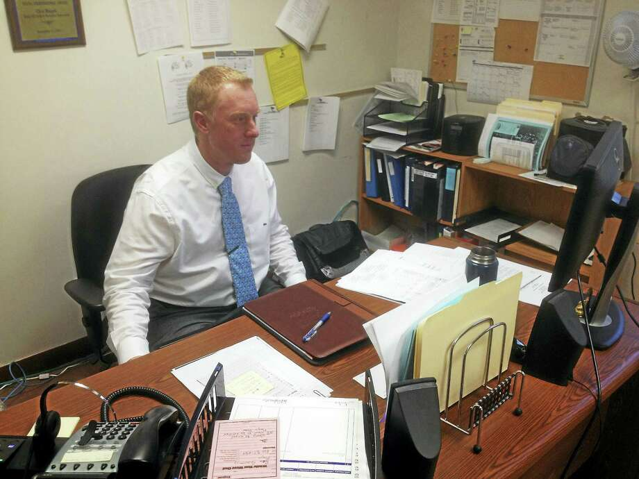 Rusack is Cromwell's new recreation department director. Photo: Jeff Mill — The Middletown Press