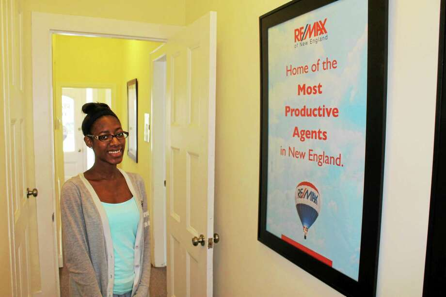 Sumia Ivey, who worked at Re/Max Edge as part of the Middletown Chamber of Commerce Youth at Work program in 2015, is shown in this archive photograph. Photo: File Photo