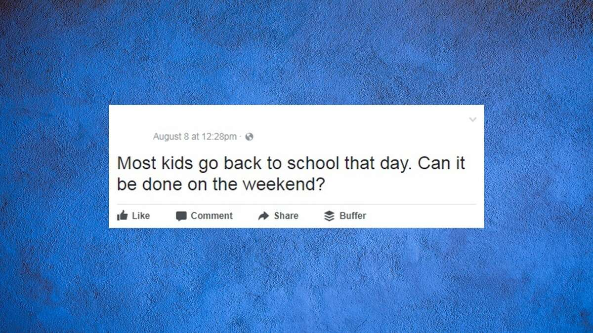 A mother got more than she bargained for when she asked if a Facebook event for the Aug. 21, 2017 solar eclipse could be rescheduled. Image source: Facebook