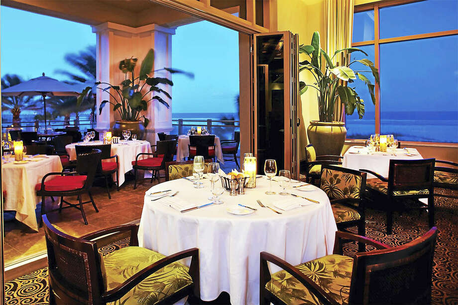 Spectacular views of the Gulf of Mexico from Caretta on the Gulf restaurant in Clearwater Beach, Florida. Photo: Photo Courtesy Of Sandpearl Resort