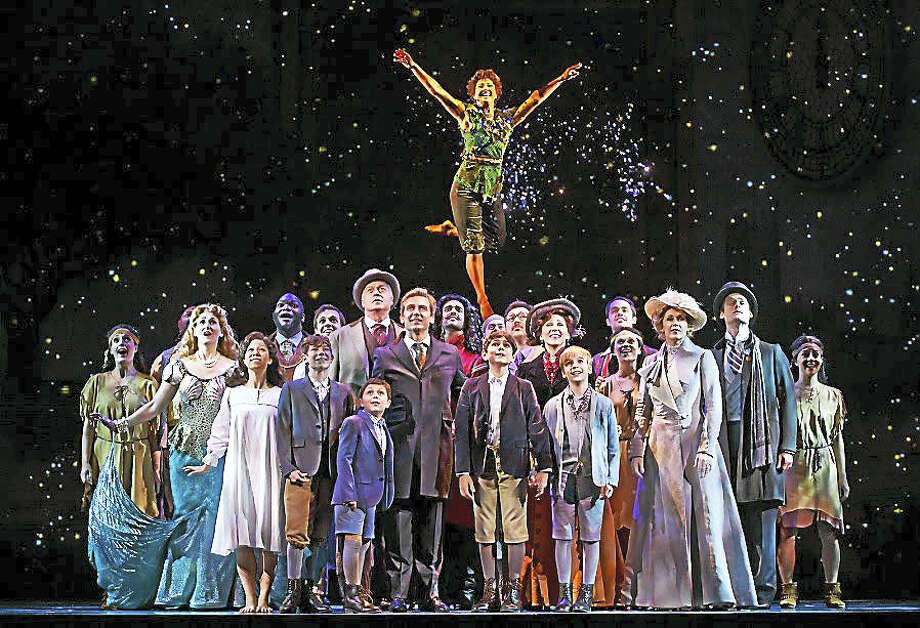 "The cast of ""Finding Neverland"" will present the show at the Bushnell in Hartford, Aug. 1-6. Photo: Contributed Photo"