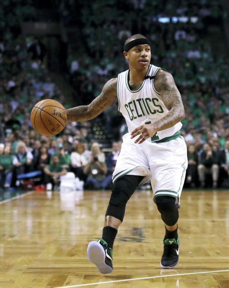 Celtics guard Isaiah Thomas. Photo: Charles Krupa — The Associated Press  / Copyright 2017 The Associated Press. All rights reserved.