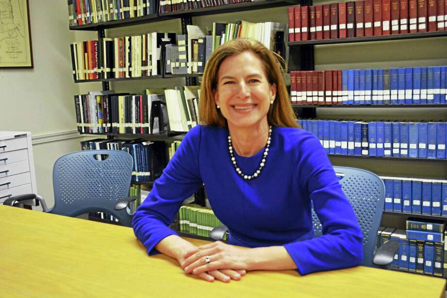 Attorney, former secretary of the state and Middletown native Susan Bysiewicz, a Democrat, announced Tuesday she has formed an exploratory committee to run for Republican state Sen. Len Suzio's seat in the 13th District. Photo: Cassandra Day — The Middletown Press