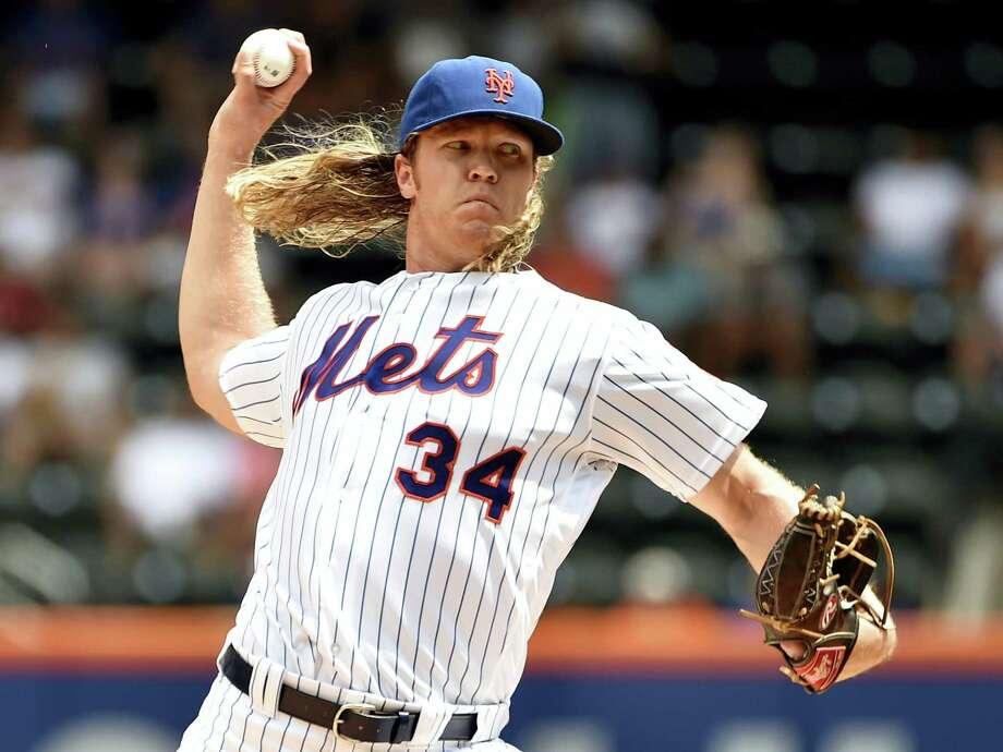 Mets pitcher Noah Syndergaard. Photo: Kathy Kmonicek — The Associated Press File  / AP
