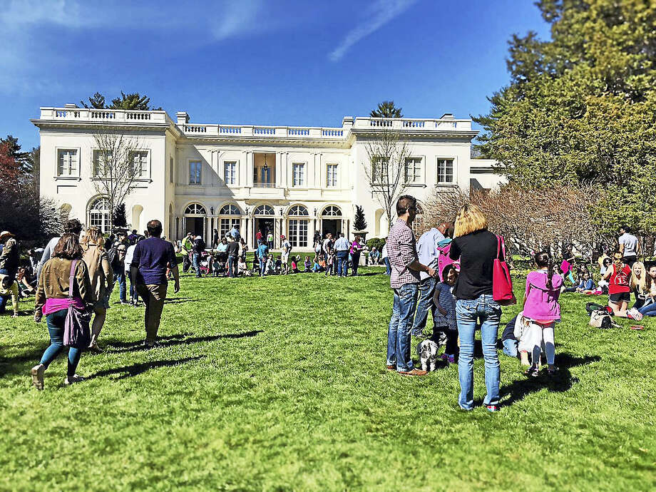 Families are welcome to celebrate the arrival of spring at the Wadsworth Mansion in Middletown on Sunday, April 23. A variety of activities are planned for children and adults. Photo: Contributed Photo