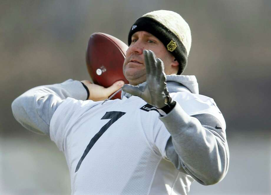 Steelers quarterback Ben Roethlisberger throws during a recent practice. Photo: The Associated Press File Photo  / Copyright 2017 The Associated Press. All rights reserved.