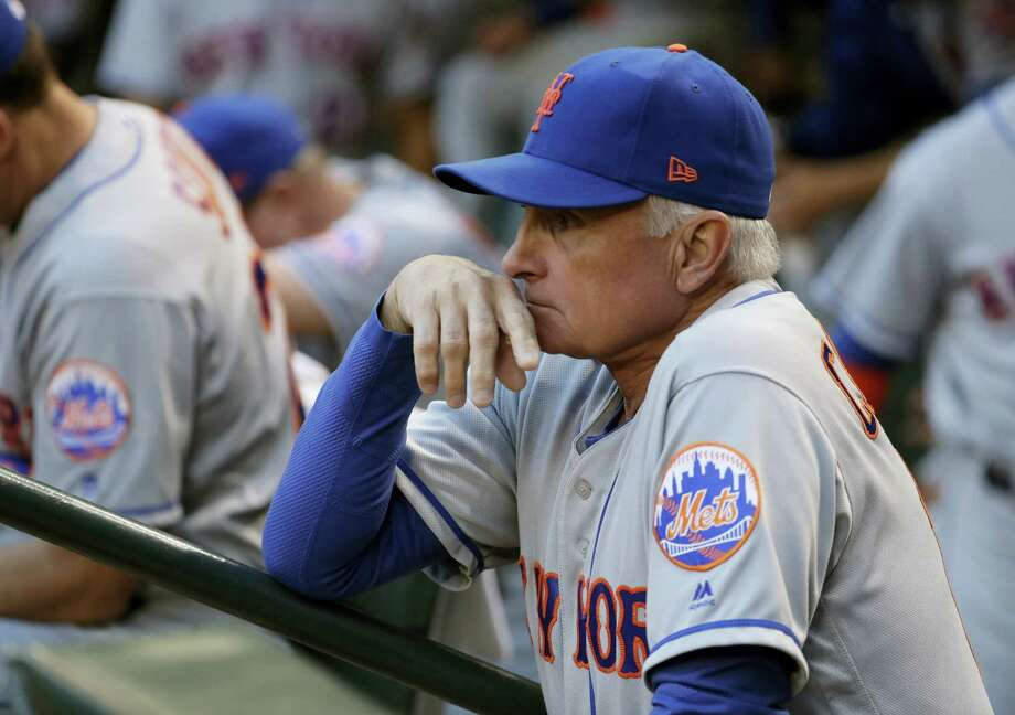 By the end of the week, Terry Collins will be the longest-tenured manager in Mets history. Photo: The Associated Press File Photo  / Copyright 2017 The Associated Press. All rights reserved.