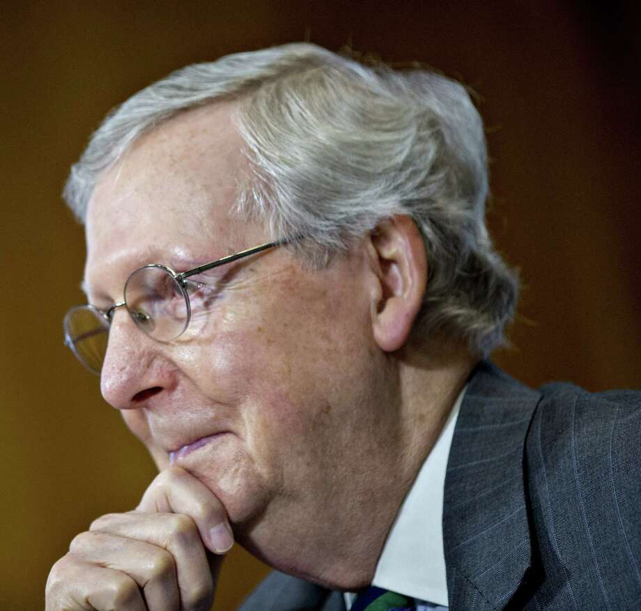 Senate Majority Leader Mitch McConnell, R-Ky., in Washington on May 25, 2017. Photo: Bloomberg Photo —Andrew Harrer  / © 2017 Bloomberg Finance LP