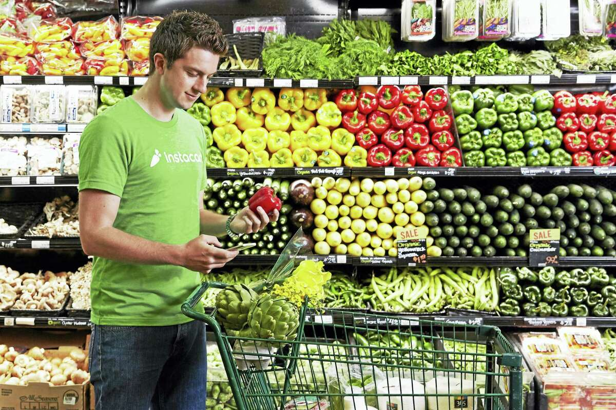Instacart online grocery delivery recently launched in Cromwell and Middletown.