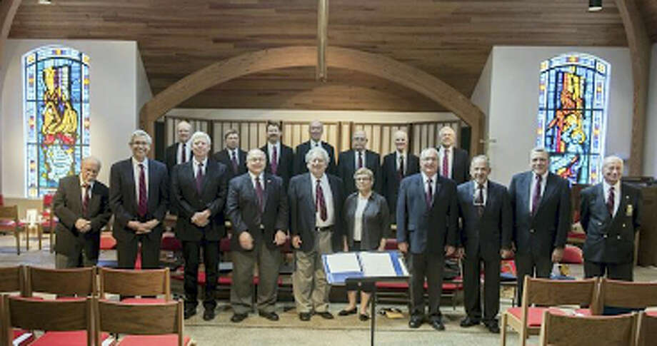 Capella Cantorum's men's chorus. Photo: Contributed Photo