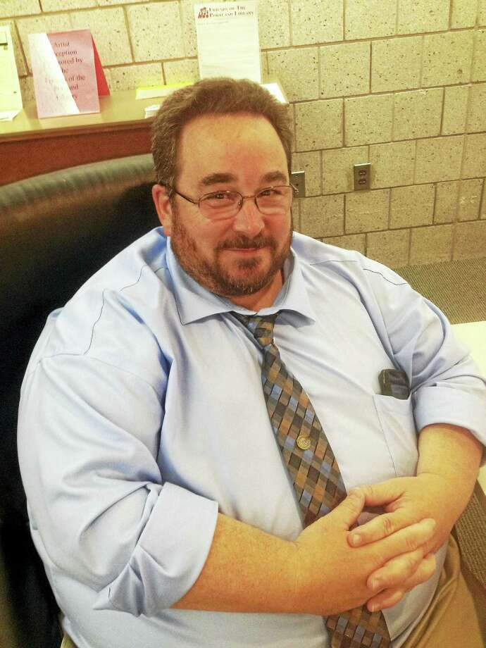 James K. Tripp is Portland's newest selectman. Photo: Jeff Mill — The Middletown Press