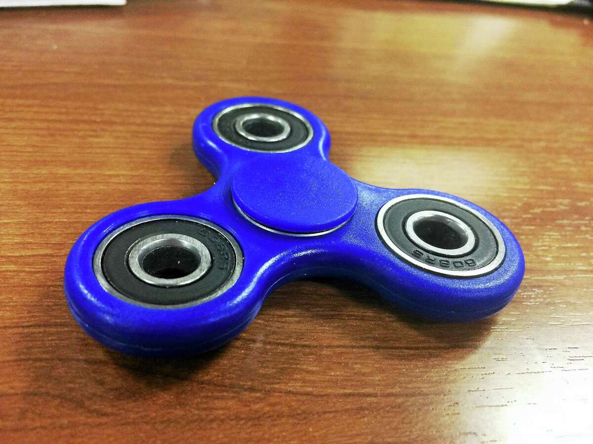 Fidget spinners are the new fad.