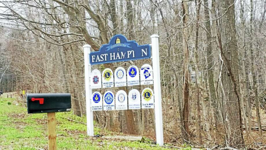 Cassandra Day - The Middletown Press Town of East Hampton sign logo Photo: File Photo