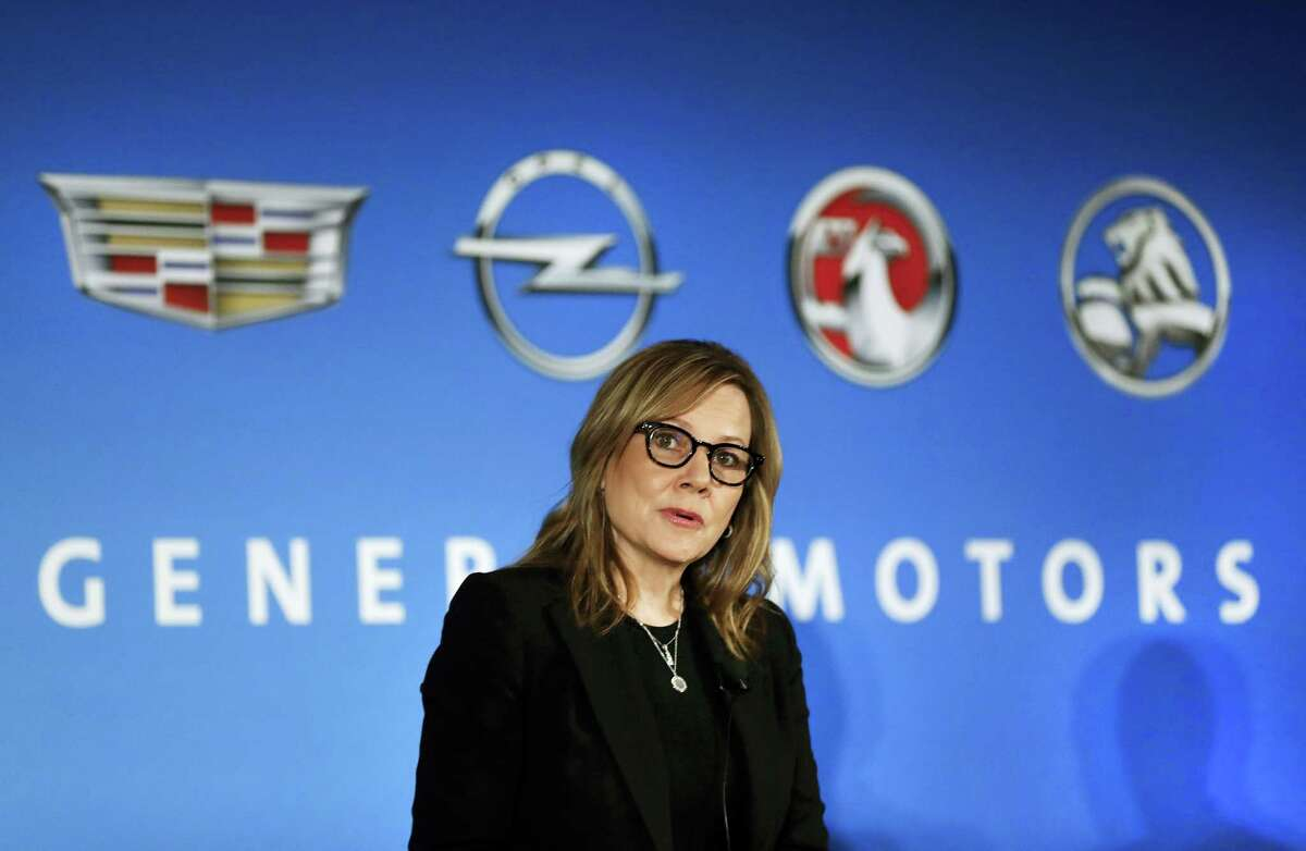 General Motors Chairman and CEO Mary Barra speaks about the financial outlook of the automaker in Detroit. On Tuesday, Jan. 17, 2017, GM confirmed the company will make a $1 billion investment in its factories that will create or keep around 1,500 jobs.