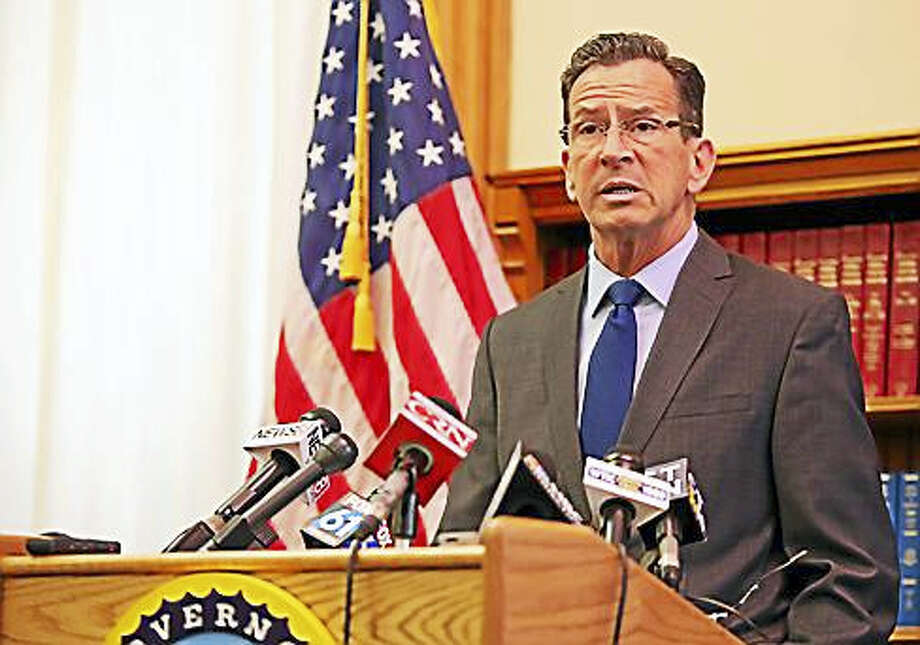 CHRISTINE STUART — CTNEWSJUNKIE Gov. Dannel P. Malloy's proposal cuts an additional $600 million in the first year of the two-year budget for 2018-19, bringing spending 1.2 percent below the current year's plan. Photo: Digital First Media
