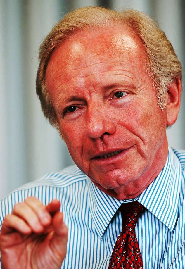 Joe Lieberman Photo: Journal Register Co.