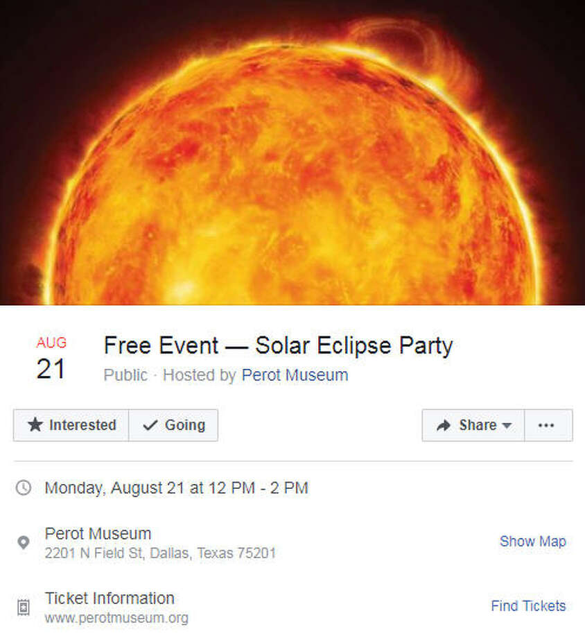 A mother got more than she bargained for when she asked if a Facebook event for the Aug. 21, 2017 solar eclipse could be rescheduled.See some of the best responses to the mother's inquiry ahead.Image source: Facebook  Photo: Perot Museum Via Facebook