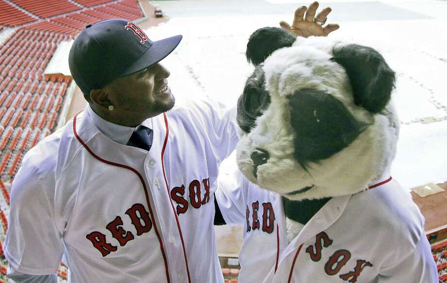 The Red Sox released Pablo Sandoval this week. Sandoval's legacy in Boston will be as one of the worst free-agent signings in club history. Photo: The Associated Press File Photo  / Copyright 2017 The Associated Press. All rights reserved.