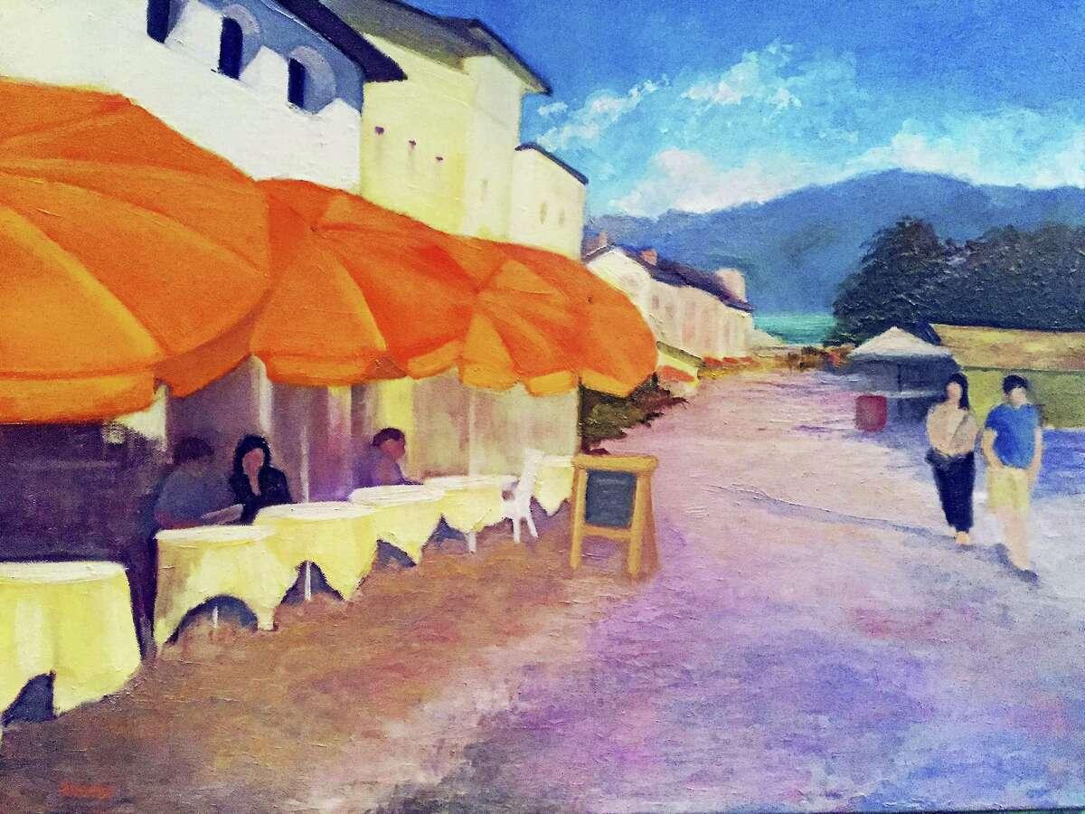 Ascona, Switzerland by Arlene Beebe of Farmington.