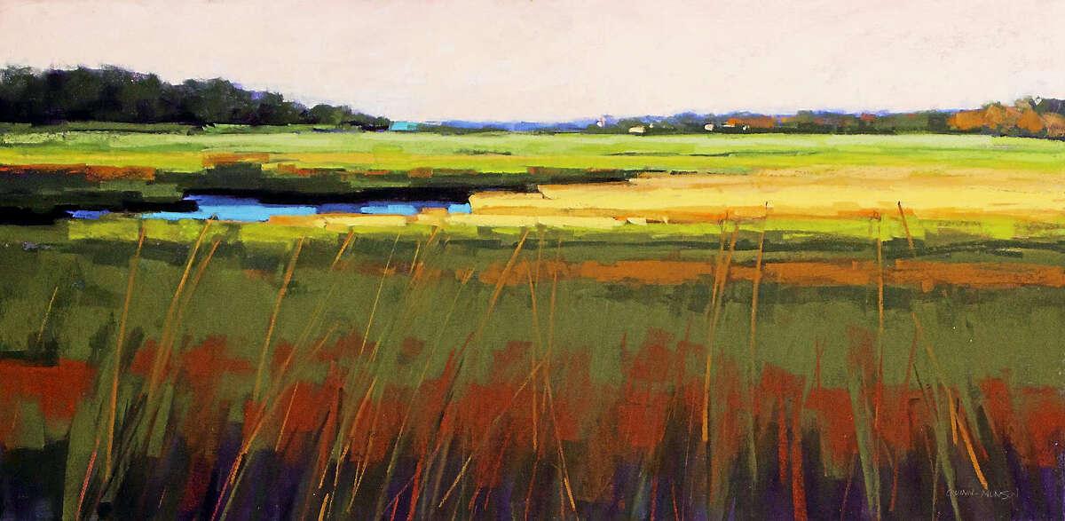 Marsh Side by Chester artist Deb Munson.